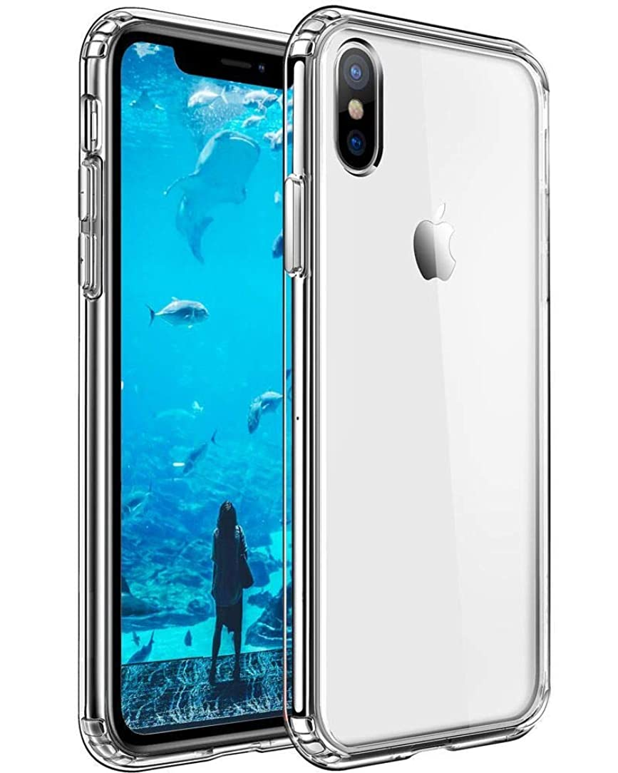 Mkeke Compatible with iPhone Xs Max Case, Clear Anti-Scratch Shock Absorption Cover Case iPhone X Max Case qmn35413060