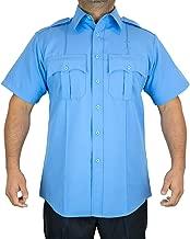 blue police shirts