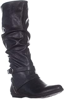 Cliffs by White Mountian Fairfield Knee High Boots, Black, Black, Size 9.0