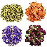 TooGet Blütenblätter Und Knospen Enthält Chrysantheme, Lilie, Vergissmeinnicht, Dianthus...