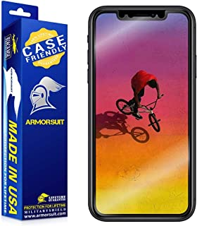 ArmorSuit MilitaryShield [Case Friendly] Screen Protector for Apple iPhone XR - Anti-Bubble HD Clear Film