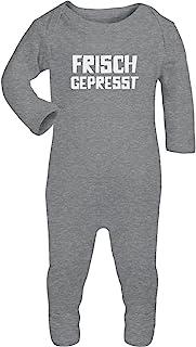 Shirtgeil Frisch Gepresst - Witziger Baby Spruch Baby Strampler Strampelanzug