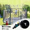 Sancodee 39ft Trampoline Sprinkler for Kids