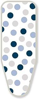 LAUNDRYSpecialist® Basic Taille L/XL (T2), Housse de Planche à Repasser, 100% Coton, avec Mousse Ultra épais de 3 mm. Conv...
