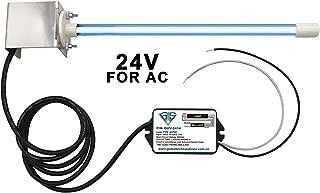 Zeiger 24V UV Light, Air Odor Purifier, Germicidal Bulb with Magnet Bracket, for HVAC AC Coil