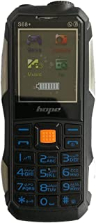 Hope Mobile - Dual Sim - 8000 mAh - Black - S68plus
