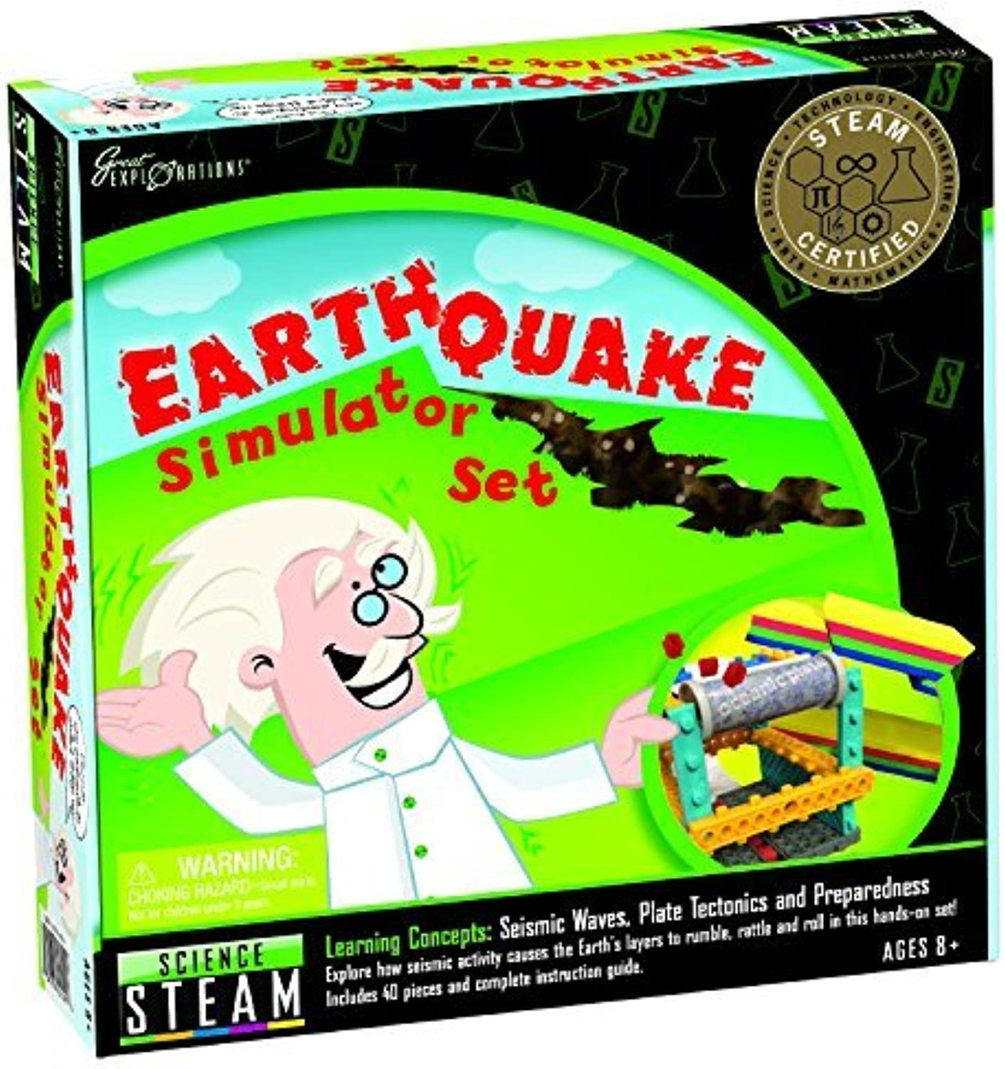 Great Explorations Earthquake Simulator Set by University Games