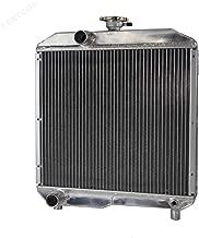 STAYCOO 2 Row All Aluminum Tractor Radiator for Ford New Holland 1510 1710 SBA310100440 SBA310100291