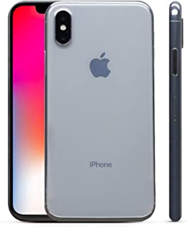 PEEL Ultra Thin iPhone XR Case - Minimalist Design | Branding Free | Protects and Showcases Your Apple iPhone XR (Clear)