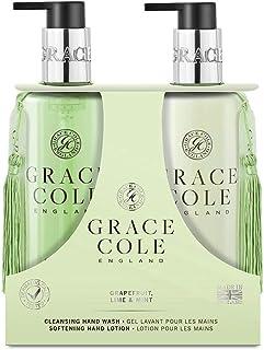 Grace Cole Grapefruit Lime & Mint Hand Care Set 2 x 300ml