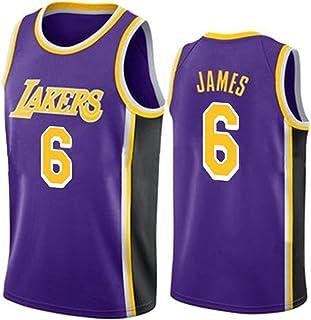 Men's Women Basketball Swingman Jerseys - Embroidery Basketball Uniform 6# James Jerseys Basketball Clothes Breathable T-S...