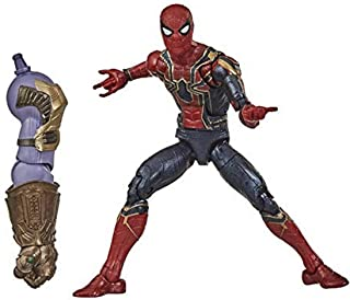 Marvel Legends Series Avengers 6 Inch Iron Spider - Premium Design and Build-a-Figure Part - Collectible Action Figures an...
