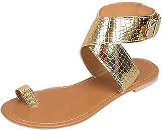 Sandalias Planas Mujer, Modaworld Sandalias Plataforma Mujer Verano 2019 Tallas Grandes en Oferta Chanclas Bajas Planas Sandalias de Playa Zapatos Zapatillas niña 35-43