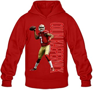 Show Time Men's Colin Kaepernick Funny Hooded Black