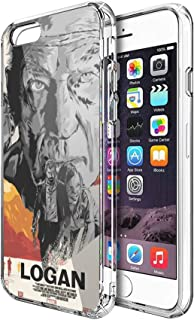 Case Phone Anti-Scratch Cover Motion Picture Illustration of Logan Movie Action Movies (5.5-inch Diagonal Compatible with iPhone 7 Plus, iPhone 8 Plus)