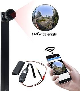 Cámara WiFi UYIKOO 140° Mini Cámara Espia 1080P HD Cámara de Video Oculta Cámara WiFi Cámara de Seguridad para el Hogar Niñera Detección de Movimiento para iPhone/Android Vista Remota
