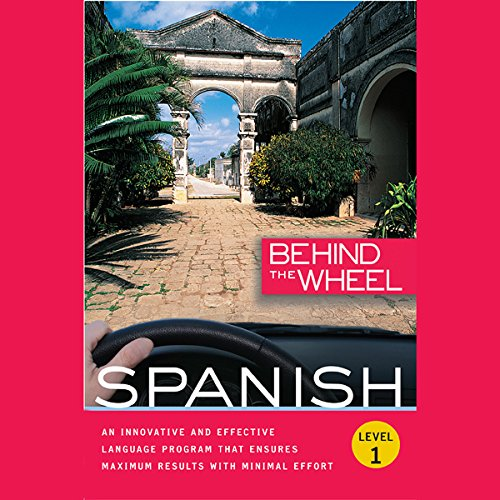 Behind the Wheel - Spanish 1 audiobook cover art