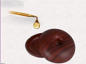 HL Drewniany nawilżacz samochodowy USB samochód przenośny mini nawilżacz powietrza, płytkie ziarno, 6 * 13 cm, płytkie zia...