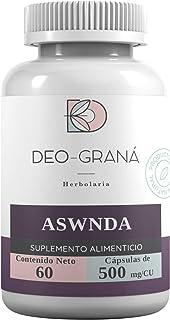 ASWNDA Suplemento Alimenticio de 500 mg con 60 cápsulas