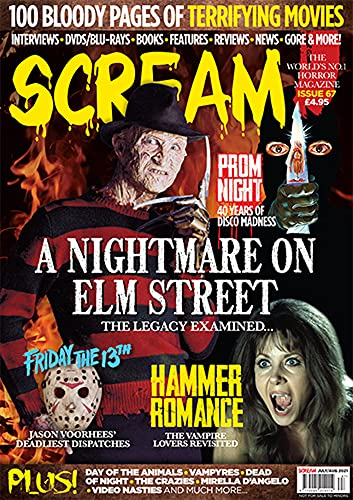SCREAM: The Horror Entertainment Magazine: Issue 67 (English Edition)