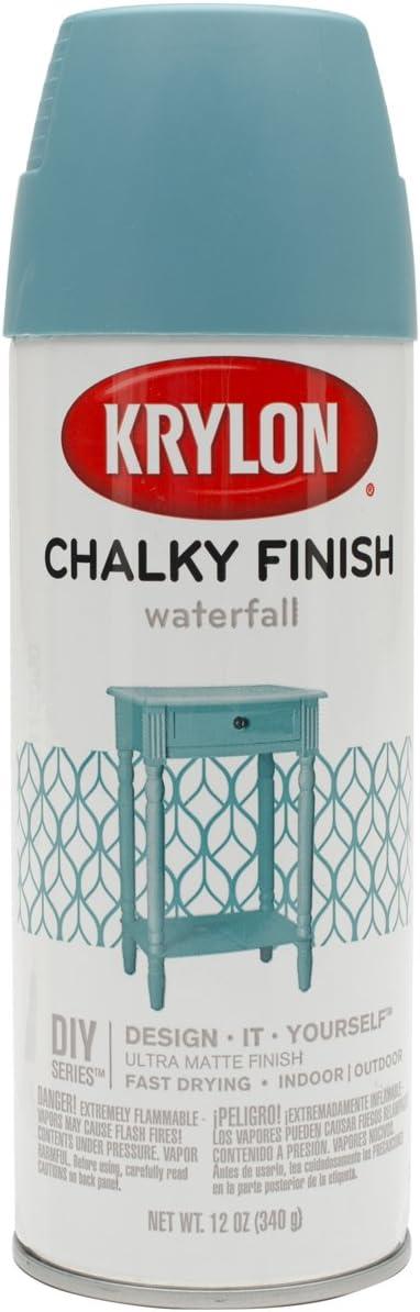 Krylon K04112000 Spray quality assurance Paint Ounce Special Campaign Waterfall 12 Aerosol