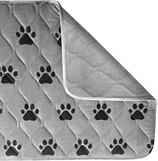 The Original GORILLA GRIP Reusable Pad and Bed Mat for Dogs and Cats Maximum Absorbency Machine Washable Waterproof Dog Cr...