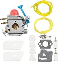 Kuupo 128LD Carburetor Fit Husqvarna 128C 128L 128LDX 128R 128RJ 128DJX 545081848 545130001 Trimmer C1Q-W40A Carb with Air Filter Tune Up Kit