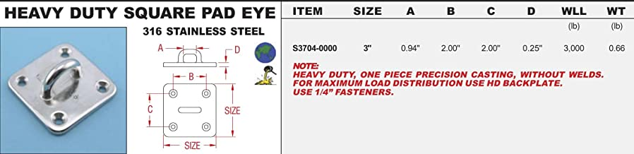 """S6 STAINLESS STEEL LONG LINK CHAIN 304L S0606-0003 1//8/"""""""