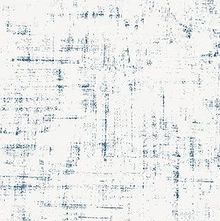 Carousel Designs Denim Distressed Fabric by The Yard - Organic 100% Cotton