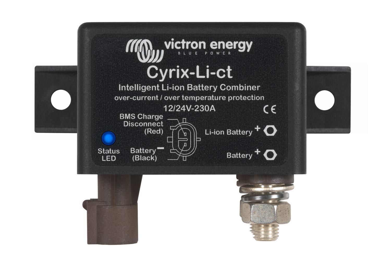 Victron Intelligent Li-ion Outlet sale feature Battery Combiner 24V - 12 Cyrix-Li-ct Sale