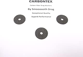 SHIMANO Reel Part Sustain 2500FD (3) Smooth Drag Carbontex Washers #SDS80
