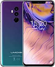 UMIDIGI Z2 Smartphone Libre Dual 4G Volte Smartphones con Bandas Globales Android 8.1Smartphone 19: 9 FHD 6.2 Pulgadas 4GB RAM + 64GB ROM 16MP + 8MP Cámara Cuádruple [Twilight]
