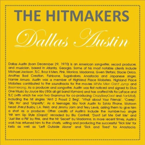 Hits of Dallas Austin