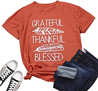 thankful feather shirt