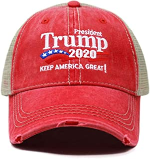 fc8d154dafe ChoKoLids Trump 2020 Keep America Great Campaign Embroidered USA Hat