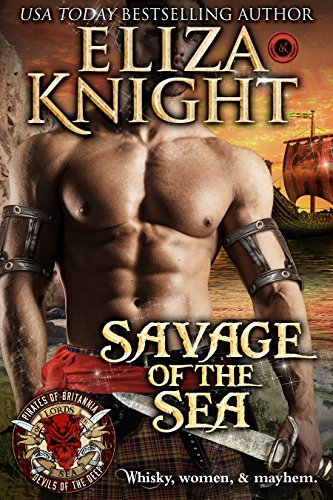 Savage of the Sea: Scottish Pirate Romance (Pirates of Britannia: Lords of the Sea)