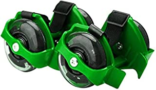 DAYONG Hot Flash Roller Skate Shoes Scooter Flashing Wheels Toys for Kids - Green