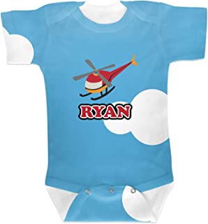 RNK Shops Helicopter Baby Onesie (Personalized)