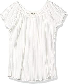 Speechless Girls' Short Sleeve Pleated Top