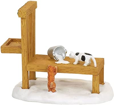 Department 56 Accessories for Villages Mistletoe Farm Kittens Accessory Figurine