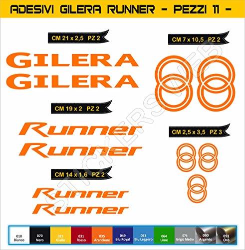 Pimastickerslab stickers GILERA Runner - Motorfiets - Cod. 0559