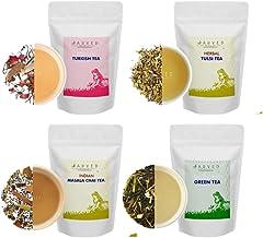 Jarved Immuni-tea booster tea kit-100g X 4 Loose Leaf Teas | All Natural ingredients | Functional teas that taste well- To Immunise, Detox, Rejuvenate, Energize