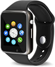 Aeifond Smart Watch Bluetooth Smartwatch Touch Screen Wrist Watch Sports Fitness Tracker with Camera SIM SD Card Slot Pedometer Compatible iPhone iOS Samsung LG Android Men Women Kids