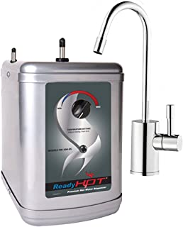 Ready Hot RH-200-F570-CH Stainless Steel Hot Water Dispenser System, Includes Chrome Single Lever Faucet