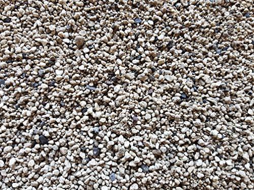 Der Naturstein Garten 12,5 kg (ca. 16 Liter) gewaschener Premium-Bims 1-4 mm - Edelbims Waschbims Bimssubstrat Bimskies Kakteenerde Bonsaierde - Lieferung KOSTENLOS