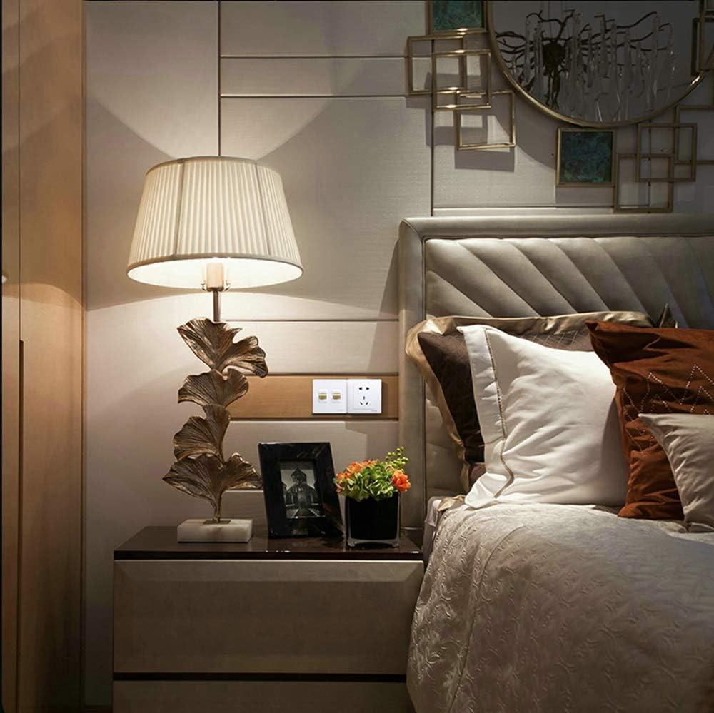 Ploutne Nordic Simple White Schalter 86 Typ-1-Gang 3-Wege-Multi-Steuerschalter Kippschalter Verdeckte Wand Panel Switch Retro Messing Hebelschalter for Hotel Home Lampen-Befestigungs-Steuerung
