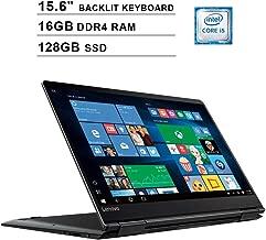 Lenovo Yoga 710 15.6-Inch FHD 1080P 2-in-1 Touchscreen Business Laptop, Intel Core i5-7200U up to 3.1GHz, Intel HD 620, 16GB DDR4 RAM, 128GB SSD, HDMI, WiFi, Bluetooth, Backlit KB, FP Reader, Win10
