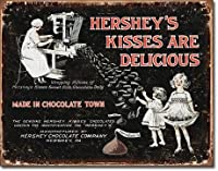 Hershey's-Kisses Metalティンサイン
