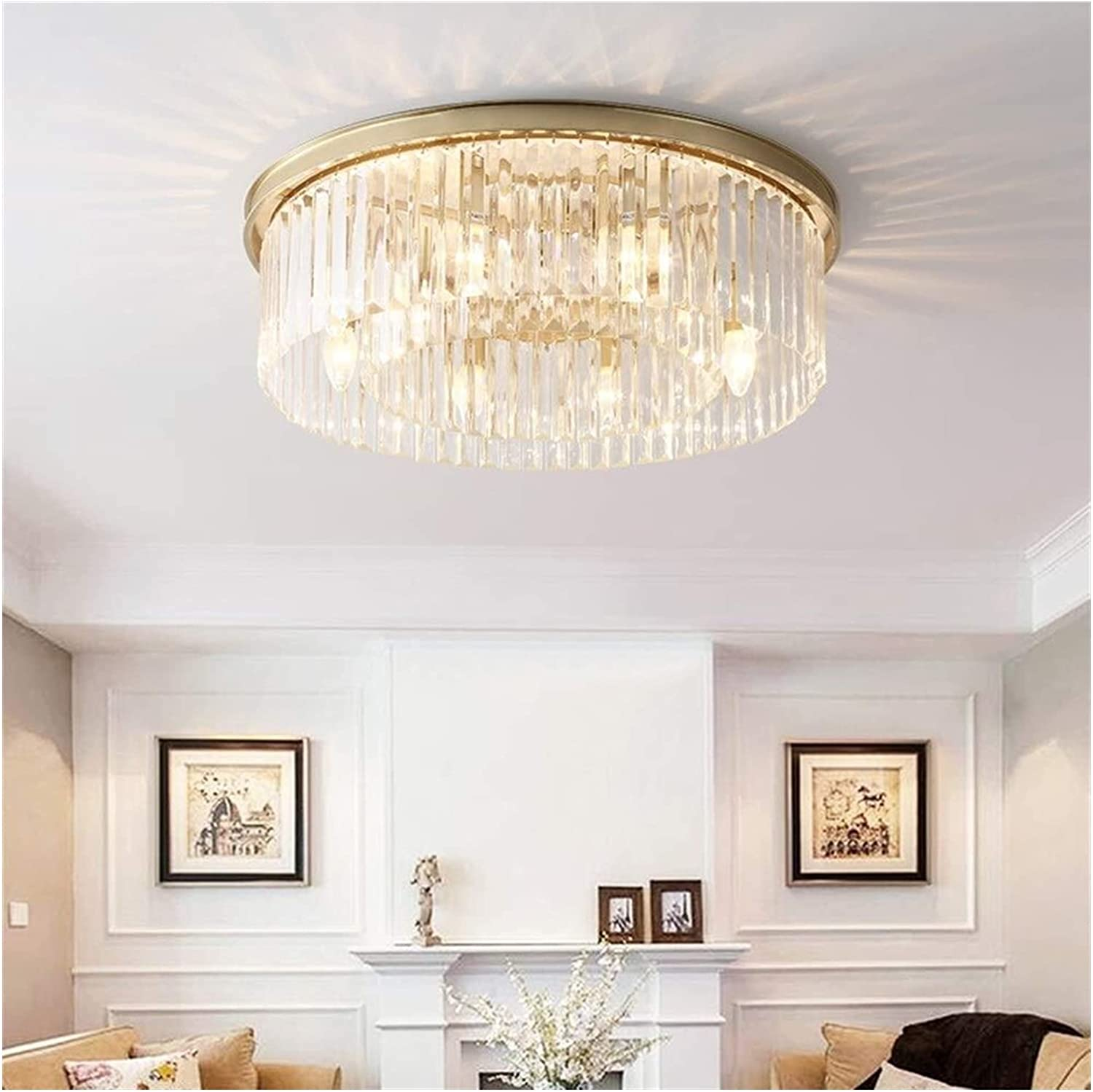 Hangarone Crystal Popular shop is the lowest price challenge Chandelier European Ceiling LED store Style