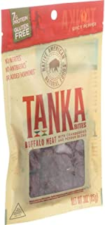 Tanka Bites Buffalo Meat with Cranberries and Pepper Blend Spicy Pepper 30 oz 85 g